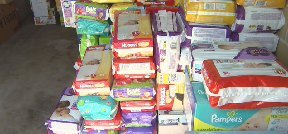 Diaper Bank Brings Hope, One Diaper At A Time