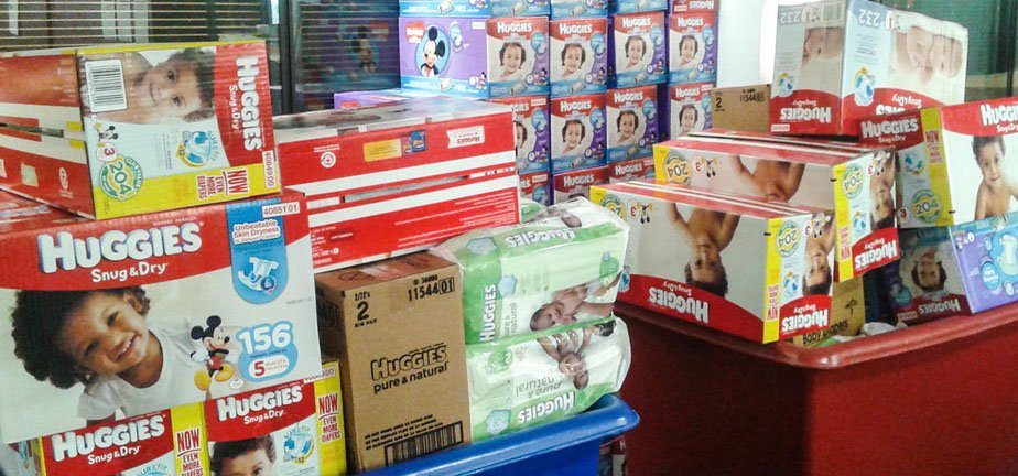 The Diaper Bank is More Than A Diaper Storage