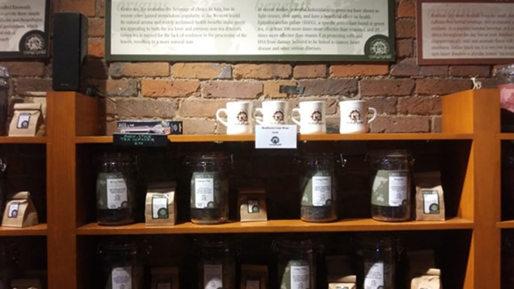 Shelves Of Coffee