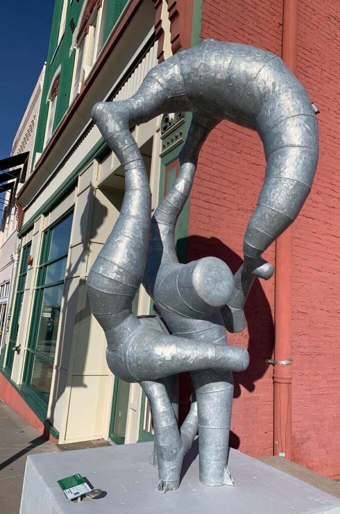 Borbor steel sculpture