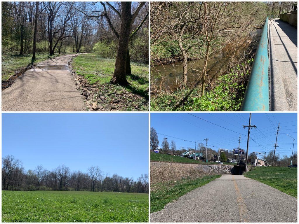 galloway creek greenway scenery