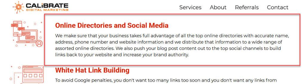 calibrate digital marketing