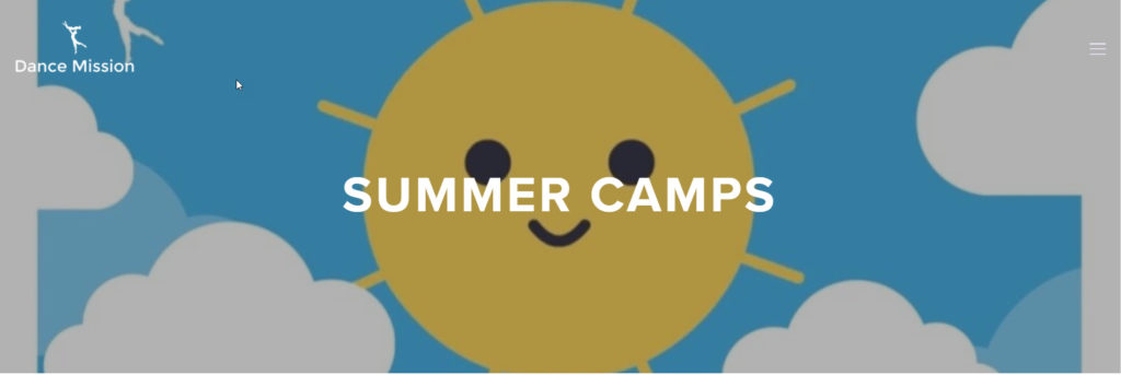 dance mission summer camp