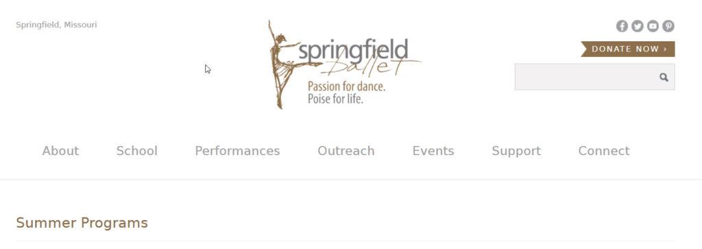 springfield ballet summer camps
