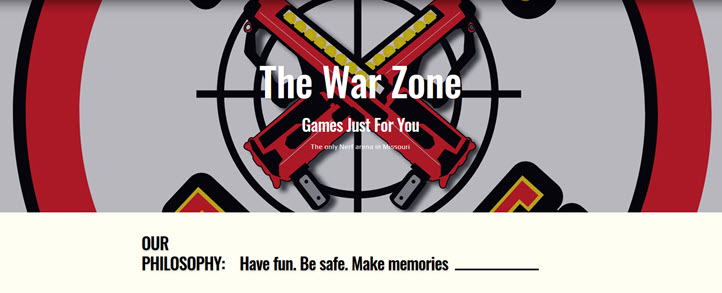 summer camps at the war zone
