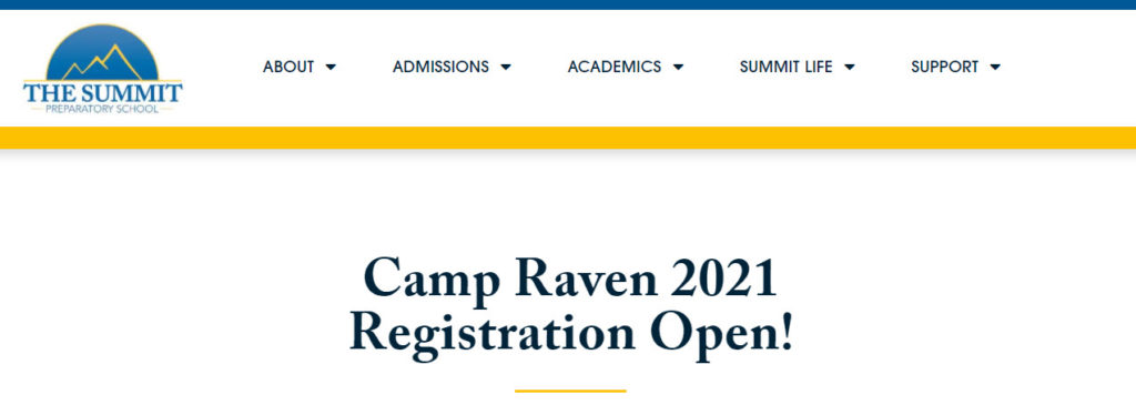 the summit summer camps