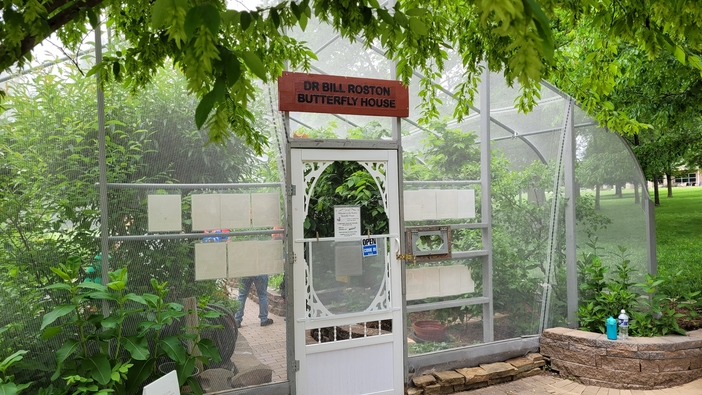 butterfly house at nethaneal greene