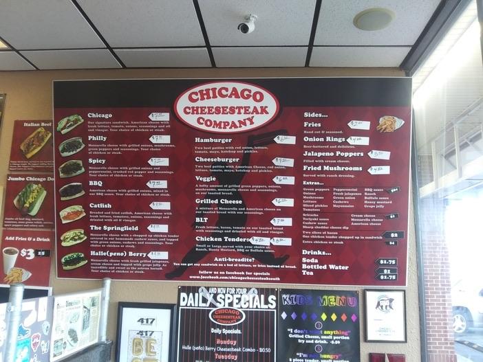 chicago cheesesteak springfield