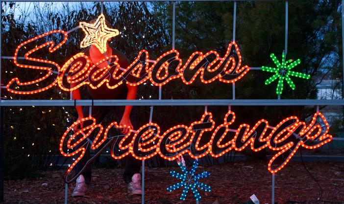 christmas lights at jordan valley