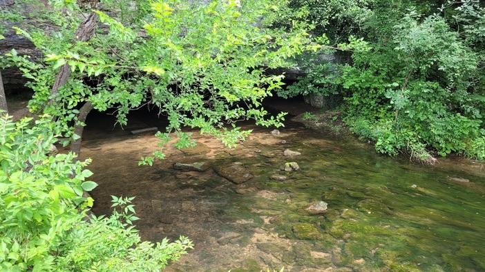 stream at sequiota park