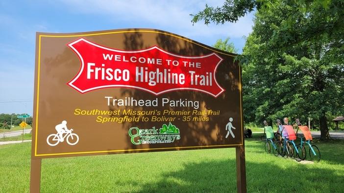 trailhead at Frisco Highline Trail